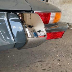 Porsche Singer Style Rear Bumper 3 Piece